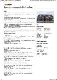 Eigentumswohnungen in Stadtrandlage Wohnung Bitburg