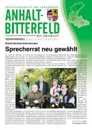 Ausgabe 21 vom 8. November 2013 - Landkreis Anhalt-Bitterfeld