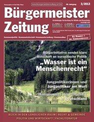 Kommunale - Bürgermeister Zeitung
