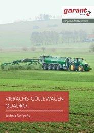 VIERACHS-GÜLLEWAGEN QUADRO - Kotte Landtechnik