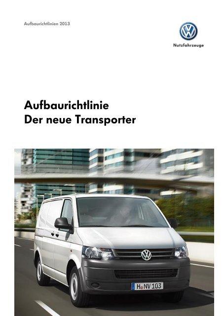 Aufbaurichtlinien Transporter T5 162 Mb Pdf Umbauportalde