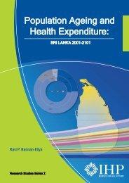 Population Ageing and Health Expenditure: Sri Lanka 2001-2101