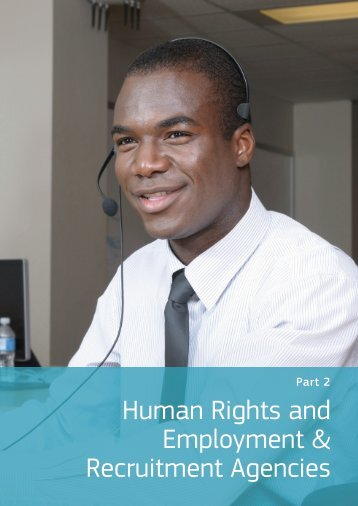 2. Human Rights and the Employment & Recruitment Agency Sector