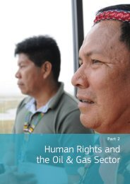 2. Human Rights and the Oil & Gas Sector - Institute for Human ...