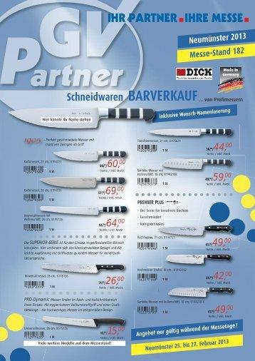 Schneidwaren der Firma DICK (PDF-Datei) - IHR PARTNER. IHRE ...