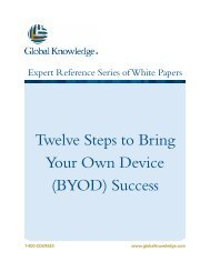 Twelve Steps to Bring Your Own Device (BYOD) Success