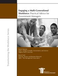 Engaging a Multi-Generational Workforce - Canadian Government ...