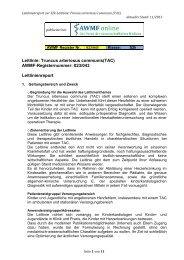 Leitlinie: Truncus arteriosus communis(TAC) AWMF ...