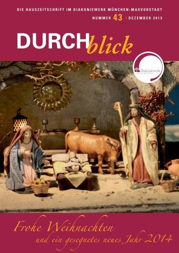 weiterlesen - Diakoniewerk München Maxvorstadt
