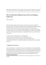 abgabe leeds marco - Comune di Bolzano