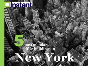 Most Popular Office Buildings in New York