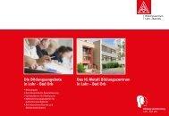 Das IG Metall Bildungszentrum in Lohr – Bad Orb Die ...