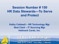 HR Data Stewards--To Serve and Protect - IHRIM