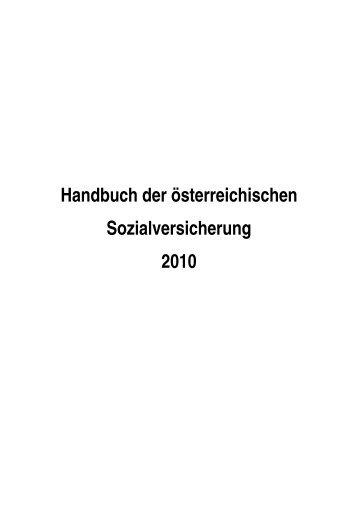 Handbuch der österreichischen - Institute for Advanced Studies