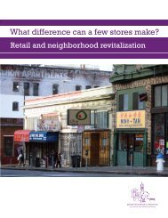 What difference can a few stores make? - Center for Community ...