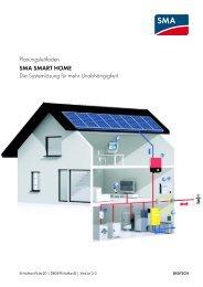 SMA SMART HOME - Die Systemlösung für mehr Unabhängigkeit ...
