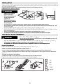 WICHTIGE SICHERHEITSHINWEISE GEFAHR WARNUNG - Page 5