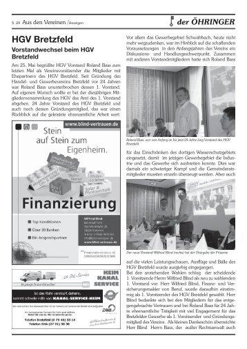 lesen - Handels- und Gewerbeverein Bretzfeld e. V.