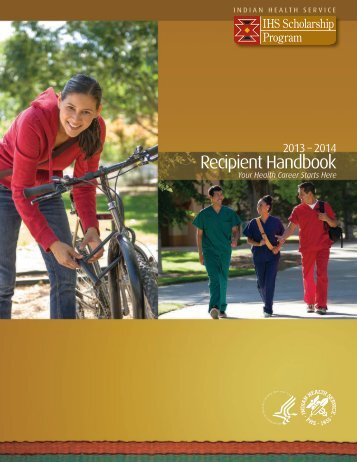 IHS Scholarship Program Student Handbook - Indian Health Service