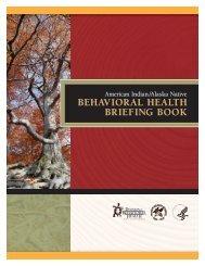 American Indian/Alaska Native Behavioral Health Briefing Book