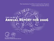 2006 Annual Report - Indian Health Service