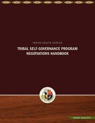 Tribal Self-Governance Program Negotiations Handbook