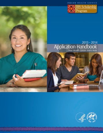 IHS Scholarship Application Handbook - Indian Health Service