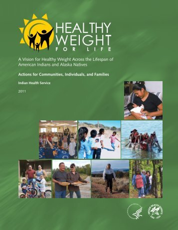 Healthy Weight for Life - Indian Health Service