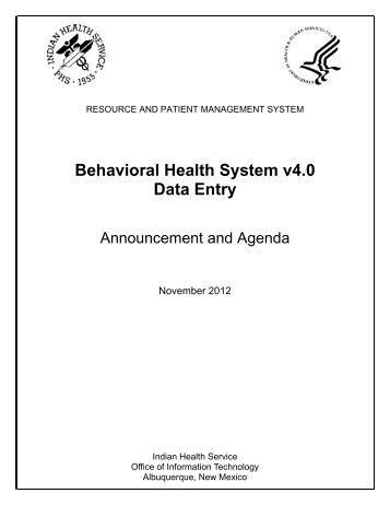 Download Syllabus - Indian Health Service