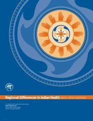Regional Differences in Indian Health 2002-2003 Edition | Introduction