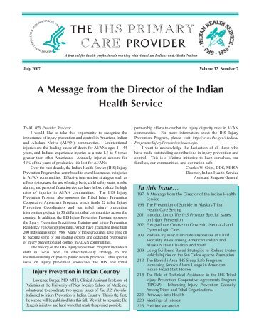 THE IHS PRIMARY CARE PROVIDER - Indian Health Service