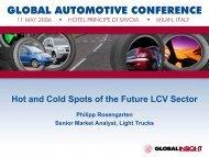 Philipp Rosengarten—Senior Market Analyst, Light Trucks - Country ...