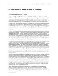 here - Country & Industry Forecasting: IHS Global Insight