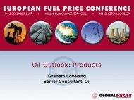 Graham Loveland, Senior Consultant for Oil ... - IHS Global Insight