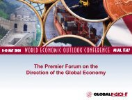 Oil Price - Country & Industry Forecasting: IHS Global Insight