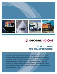 Global Trade & TransportationUpdated2007.qxd - IHS Global Insight