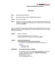 Miembros del Servicio Macro De - Country & Industry Forecasting ...