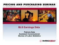 (BLS) Upcoming Wage and Price Enhancements - IHS Global Insight