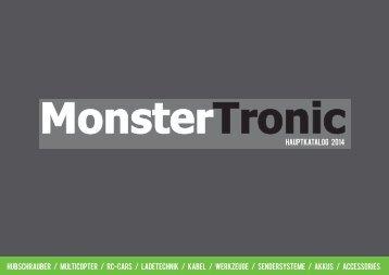 MonsterTronic Hauptkatalog