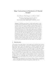 Edge Contractions in Subclasses of Chordal Graphs*