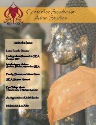 Center for Southeast Asian Studies - International Institute ...