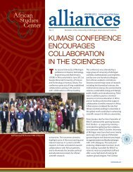 t kumasi conference encourages collaboration in the sciences