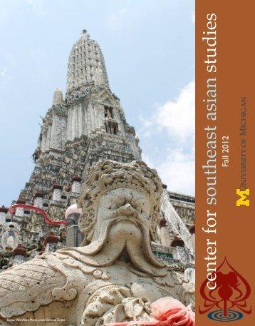 center for southeast asian studies - International Institute - University ...