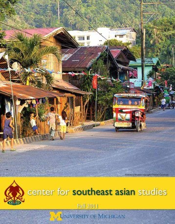center for southeast asian studies - International Institute - University ...