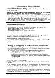 Gebrauchsinformation: Information für den Anwender - Aliva-Apotheke