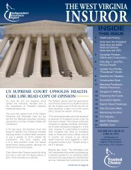 Volume 21, Issue 12 - Independent Insurance Agent