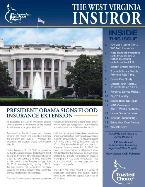 Volume 21, Issue 11 - Independent Insurance Agent