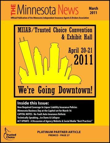 Minnesota News • March 2011 - Independent Insurance Agent