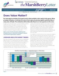 Does Value Matter? - Independent Insurance Agent