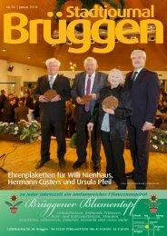 Stadtjournal Brüggen Januar 2014